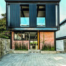 Fabricação de casas em aço