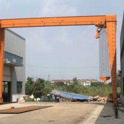 Portico aço industrial