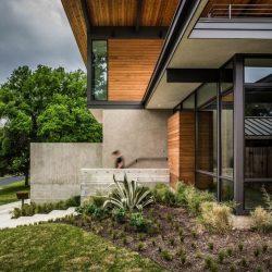 casa contemporaneo aço