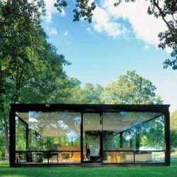 casa metalica vidro revestimento