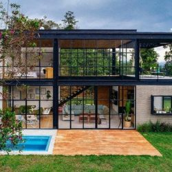residencia estrutura de aço